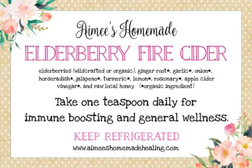 Elderberry Fire Cider