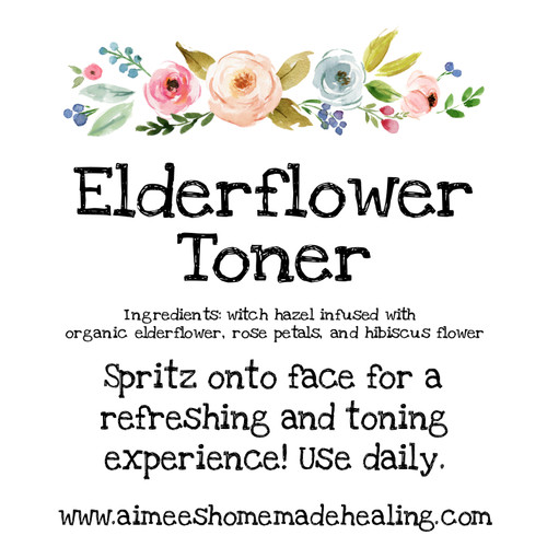 Elderflower Toner