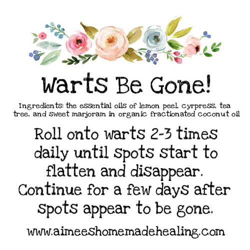 Warts Be Gone! Rollerball