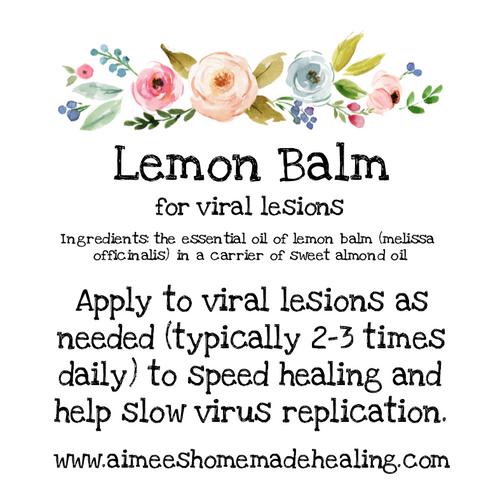Lemon Balm Rollerball
