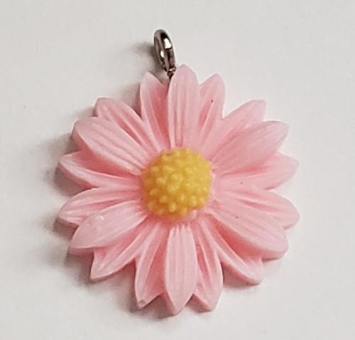 Light Pink Daisy Charm