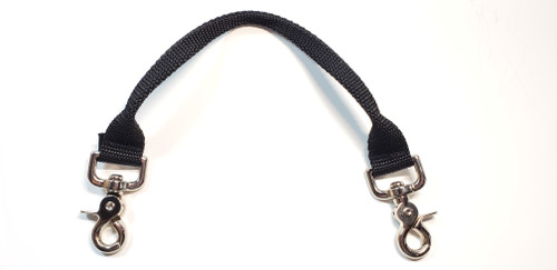 "Add a Handle can be added to any existing "" A Bulldog's World"" Step in Harness or Diaper Harness. By attaching the heavy duty Lobster claws to the side rings on the harness, it instantly gives you a strong grip on your dog if a situation arises and you need to protect them or guide them from situations that may need a closer hand.   Makes vet or groomer visits a little more controlled, and the sense that you have control lessens the fear in your dog. Entering new places can be a hurdle for some dogs, and they can be hesitant to walk in without assistance. This will again, give you the control of the situation with guidance and positive reinforcement"