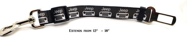 Jeep Black Bullie Belt