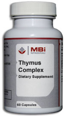 MBi Nutraceuticals Thymus Complex Glandular Tissue Concentrate 60 Capsules
