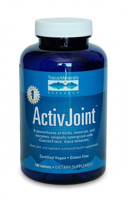 Trace Minerals ActivJoint (formerly Arth-X) 180 Tablets