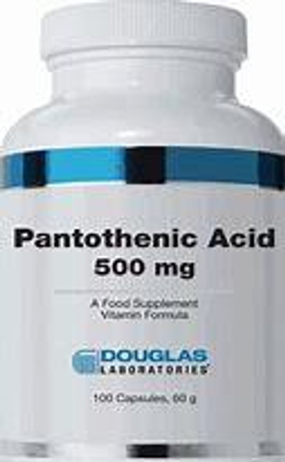 Douglas Labs Pantothenic Acid 500 mg 100 capsules