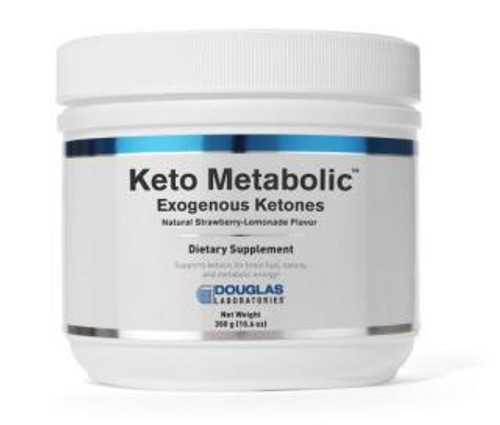 Douglas Labs Keto Metabolic 10.6 oz (300 gm) natural strawberry lemonade flavor