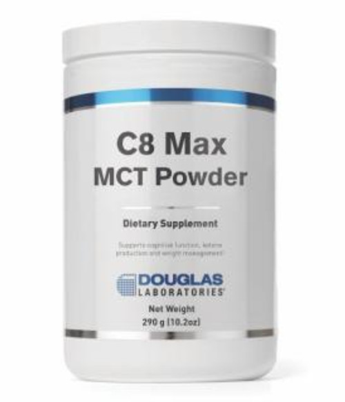 Douglas Labs C8 Max MCT Powder 10.2 oz (290 gm)