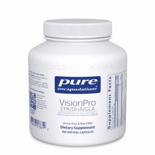Pure Encapsulations VisionPro EPA/DHA/GLA* 180 capsules