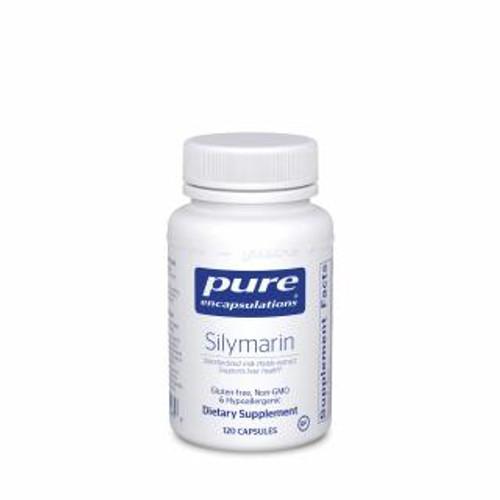 Pure Encapsulations Silymarin 120 capsules