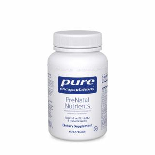 Pure Encapsulations PreNatal Nutrients 60 capsules