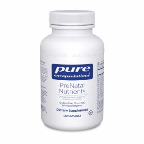 Pure Encapsulations PreNatal Nutrients 120 capsules