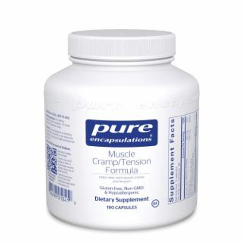 Pure Encapsulations Muscle Cramp/Tension Formula* 180 capsules