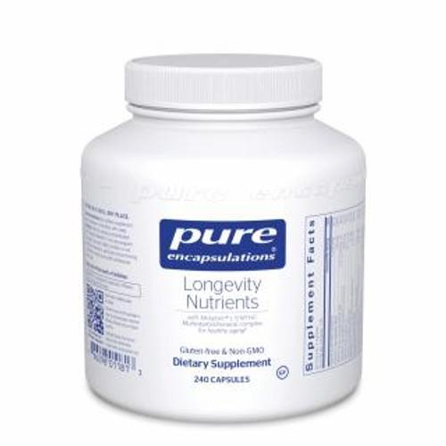 Pure Encapsulations Longevity Nutrients 240 capsules