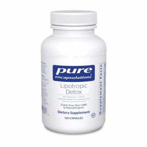 Pure Encapsulations Lipotropic Detox 120 capsules