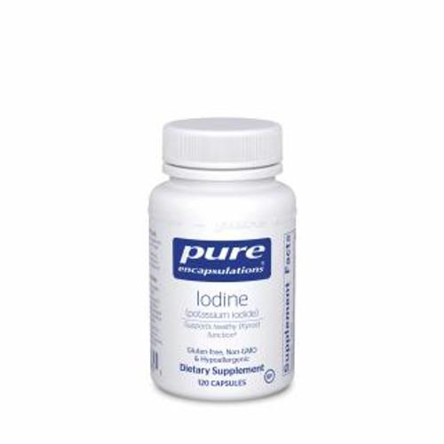 Pure Encapsulations Iodine (Potassium Iodide)120 capsules