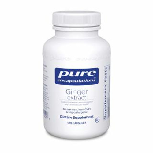 Pure Encapsulations Ginger Extract 120 capsules