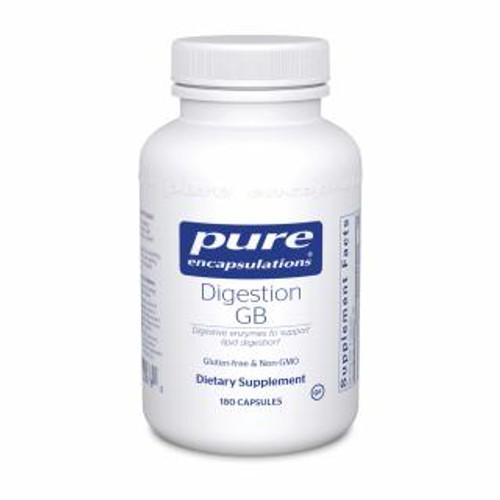 Pure Encapsulations Digestion GB 180 capsules