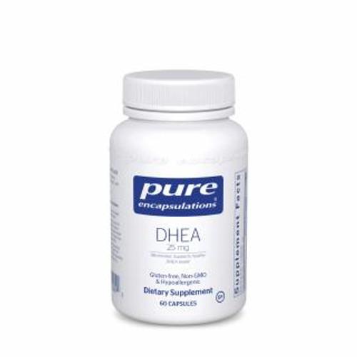 Pure Encapsulations DHEA 25 Mg. 60 capsules