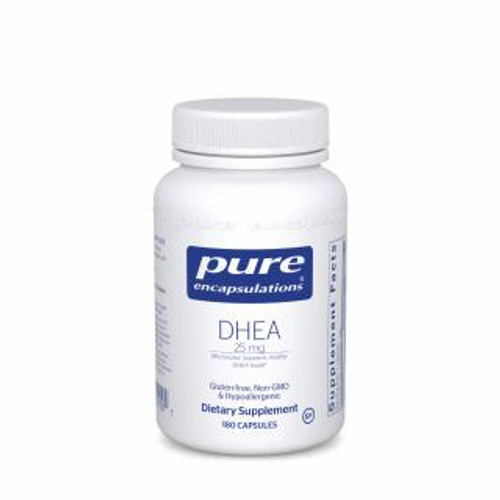Pure Encapsulations DHEA 25 Mg. 180 capsules