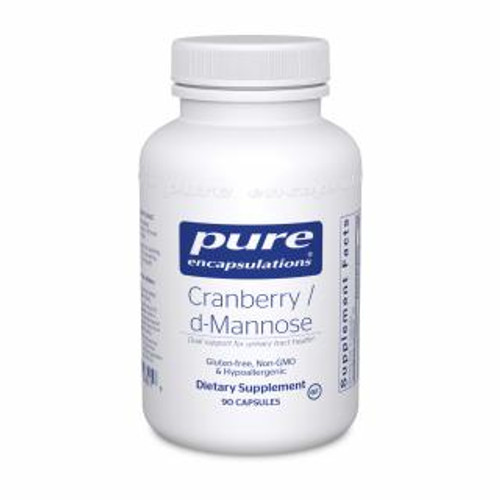 Pure Encapsulations Cranberry/D-Mannose 90 capsules