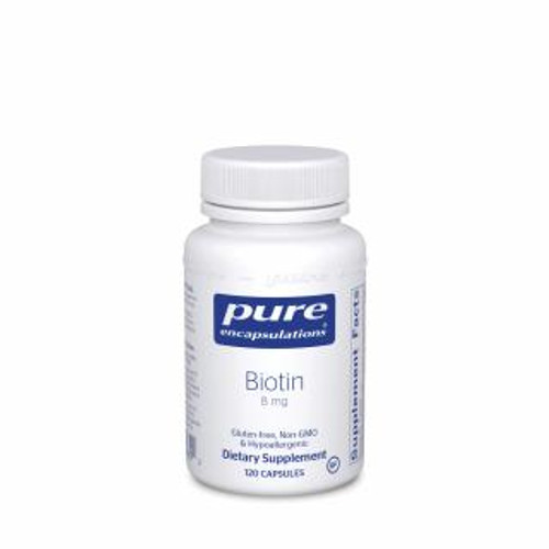 Pure Encapsulations Biotin 8 Mg. 120 capsules