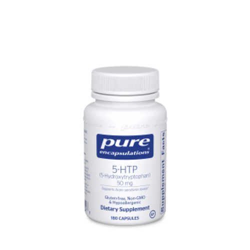 Pure Encapsulations 5-HTP 50 Mg. 180 capsules