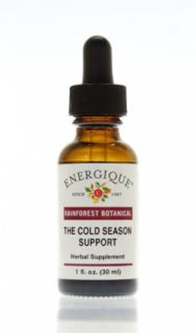 Energique THE COLD SEASON SUPPORT Rainforest Botanical 1 oz Herbal