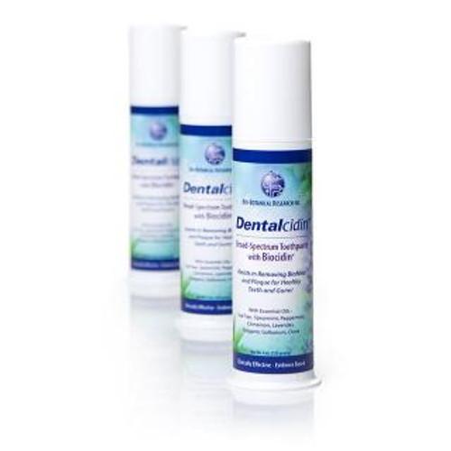 Bio-Botanical Research Dentalcidin toothpaste with Biocidin 4 oz pump