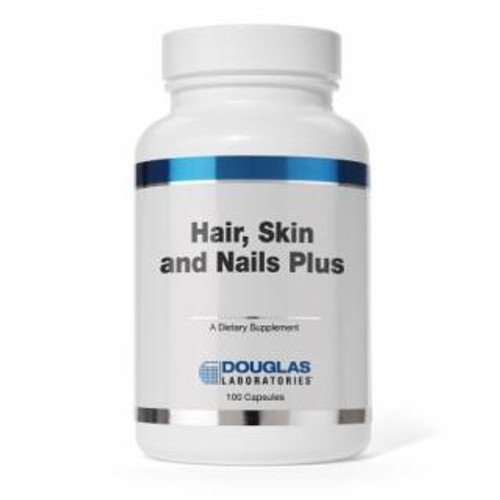 Douglas Labs Hair Skin & Nails Plus Formula 100 capsules