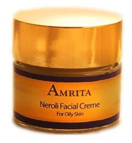Amrita Aromatherapy Neroli Facial Creme for Oily Skin 1oz