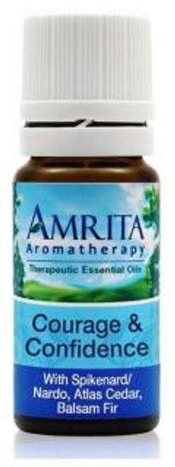 Amrita Aromatherapy Courage & Confidence Synergy Blend 10ml
