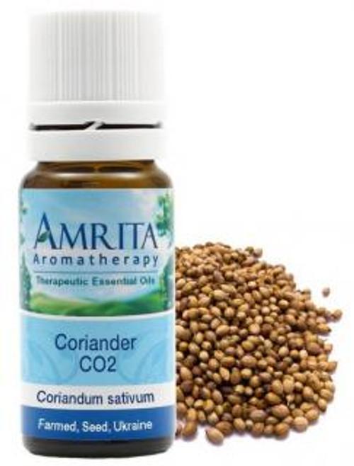 Amrita Aromatherapy Coriander, CO2 (Farmed) Essential Oil10 ml