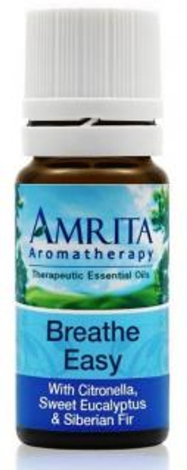 Amrita Aromatherapy Breathe Easy Synergy Blend 10 mL