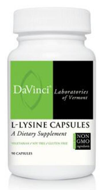 Davinci Labs L-LYSINE CAPSULE 90 capsules