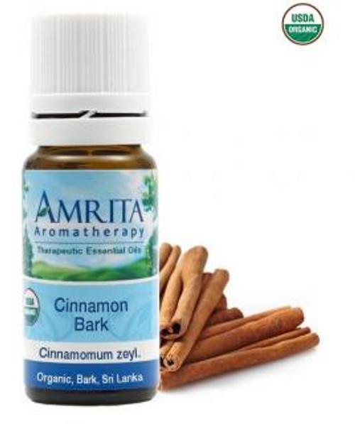 Amrita Aromatherapy Cinnamon Bark Organic Essential Oil 5 ml
