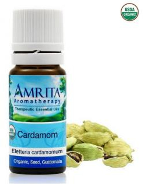 Amrita Aromatherapy Cardamon Organic Essential Oil 10 ml