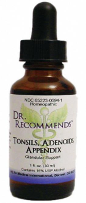 Dr. Recommends Tonsils/ Adenoids/ Apdx 1 oz