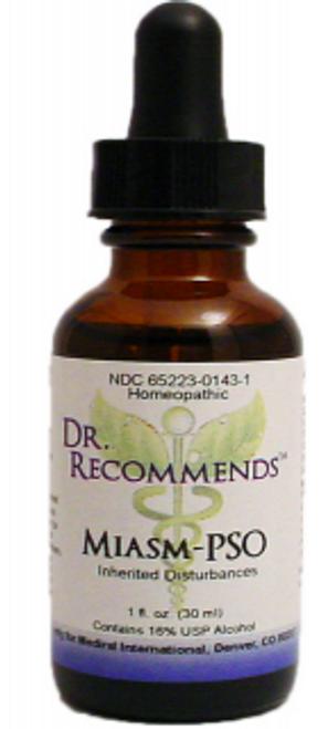 Dr. Recommends Miasm-PSO 1 oz