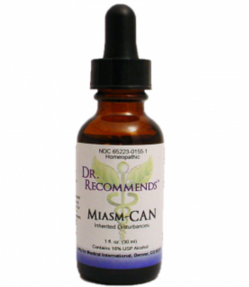 Dr. Recommends Miasm-CAN 1 oz