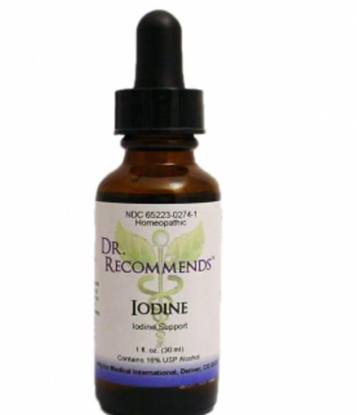 Dr. Recommends Iodine Oligo 1 oz