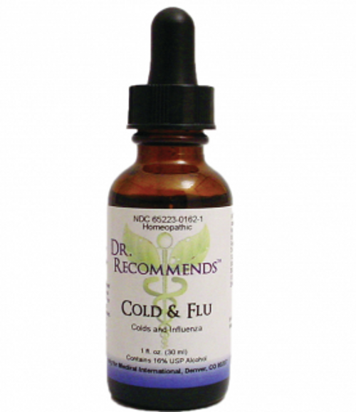 Dr. Recommends Cold & Flu 1 oz