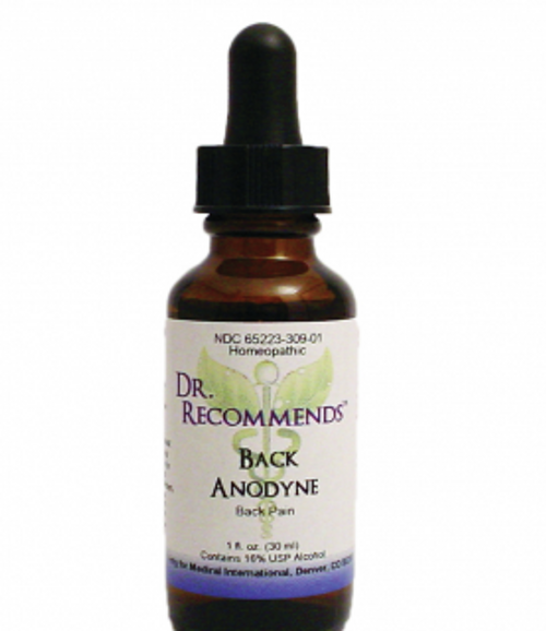 Dr. Recommends Back Anodyne1 oz