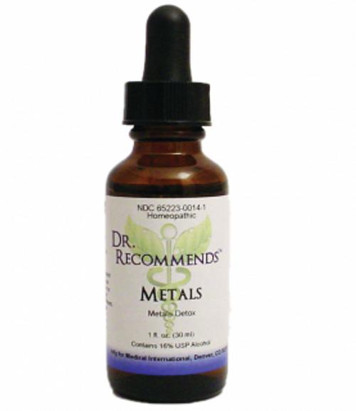 Dr. Recommends Metals 1 oz