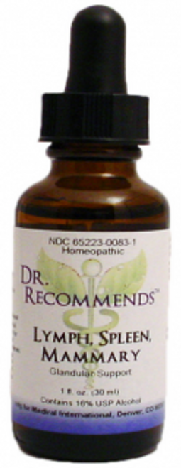 Dr. Recommends Lymph/ Spleen/ Mammary 1 oz