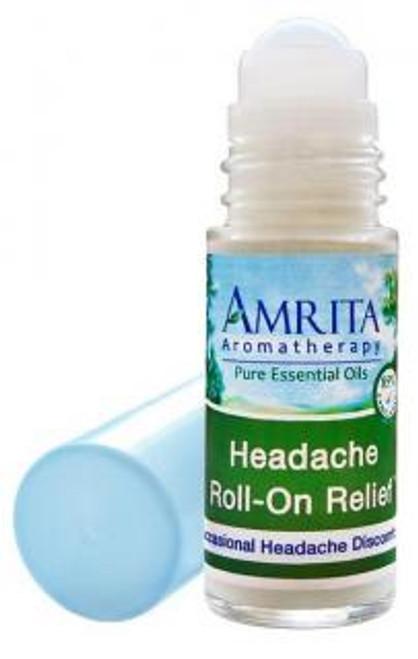Amrita Aromatherapy Headache Reliever Roll-On 1 fl oz