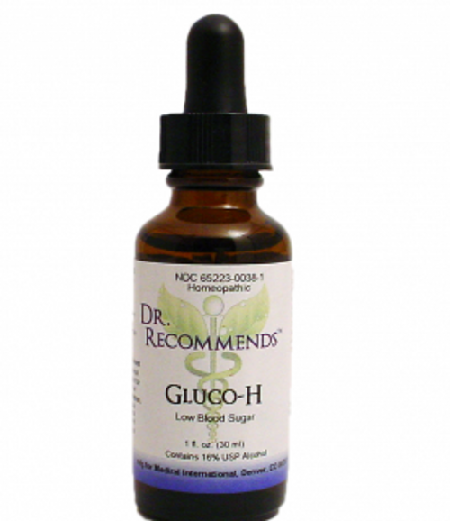 Dr. Recommends Gluco H 1oz