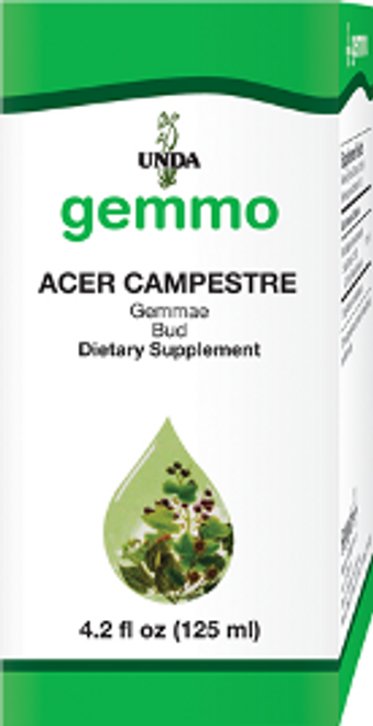 UNDA Gemmotherapy Acer Campestre (Field Maple Bud) 4.2 fl oz (125 ml)