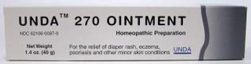 UNDA #270 Ointment 1.4 oz (40 grams)