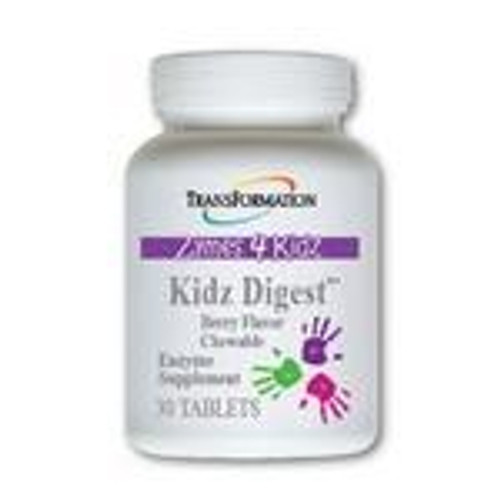 Transformation Enzymes Kidz Digest chewable 30 tablets